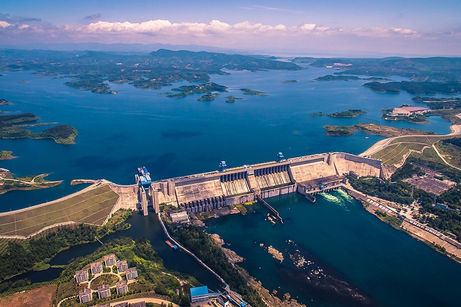 South-North Water Transfer Project, China