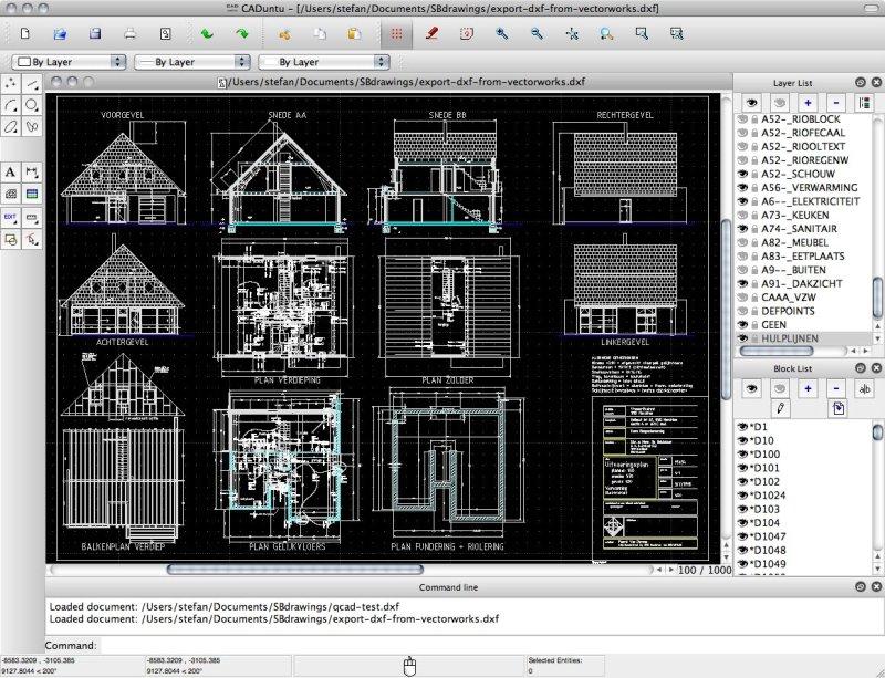 LibreCAD - Free Open Source 2D CAD