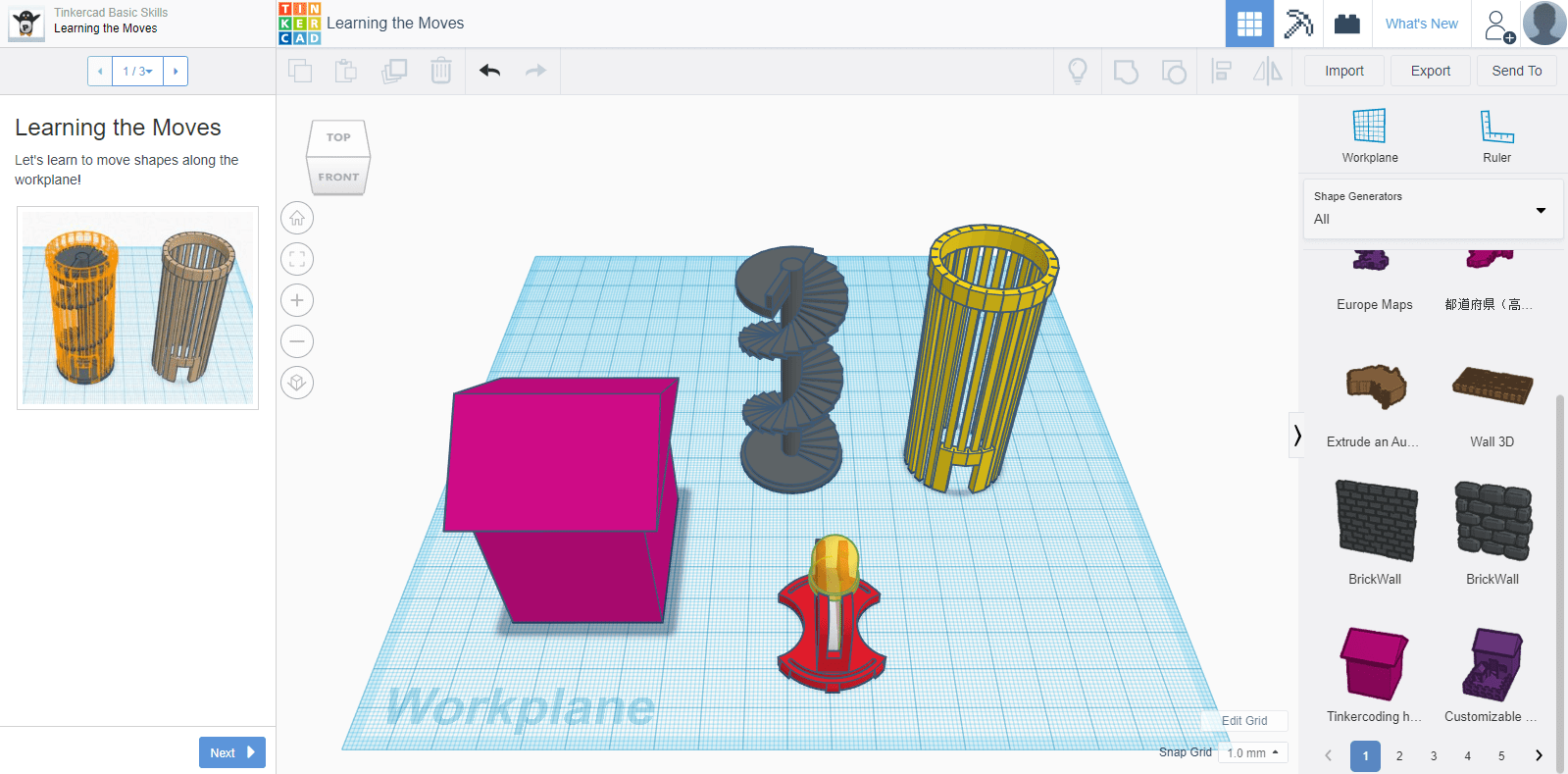 TinkerCAD - From mind to design in minutes
