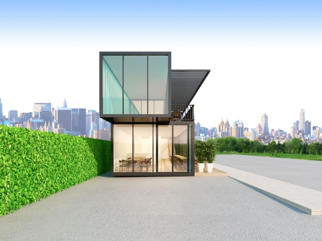 3D Rendered Container Structure, Image Courtesy of iStockPhoto
