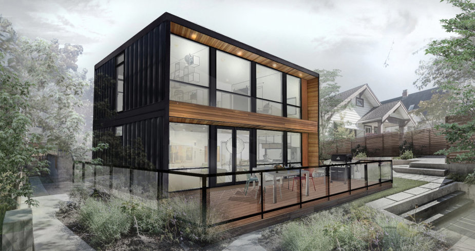 Container House, Image courtesy of Honomobo