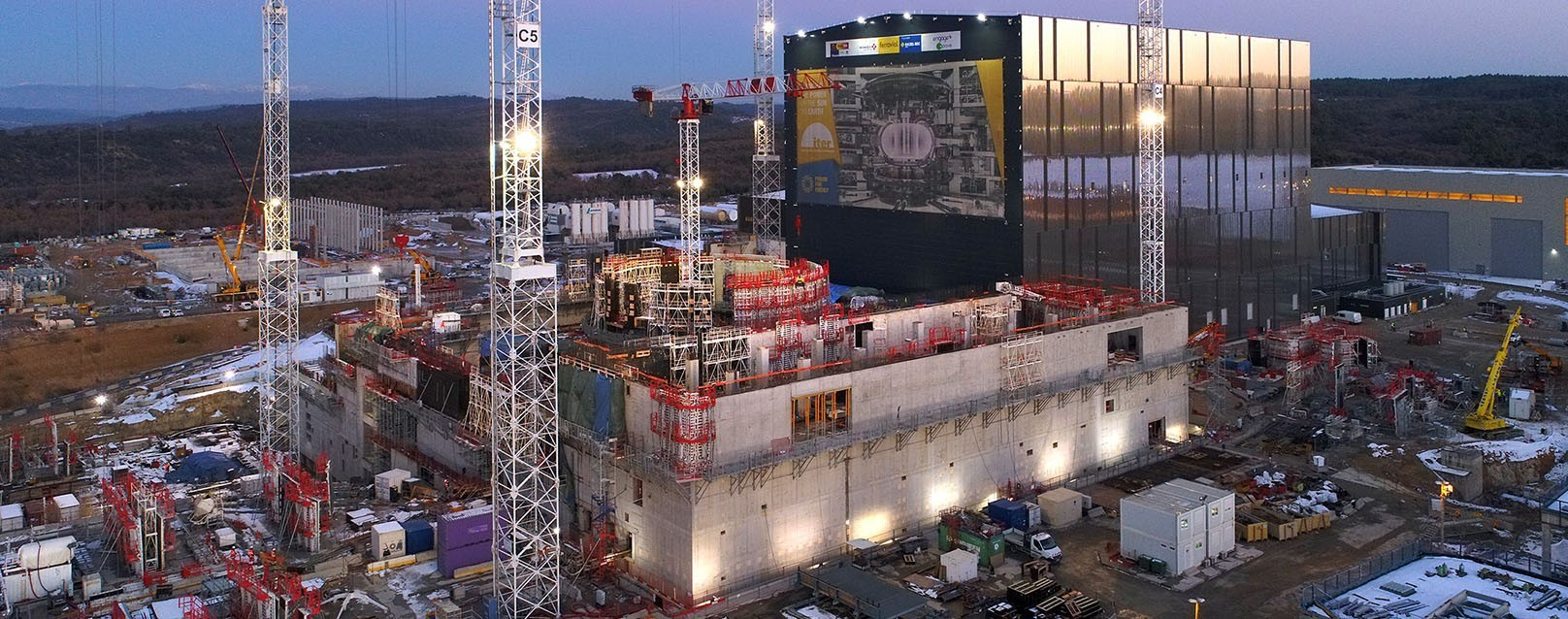 ITER Project Complex Under Construction