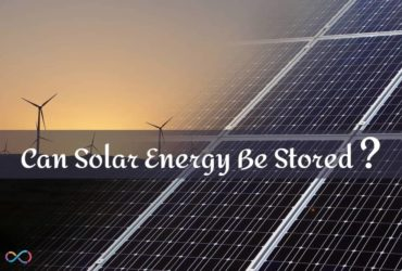Can Solar Energy Be Stored