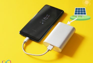 Using Solar Panel to Charge a Power Bank