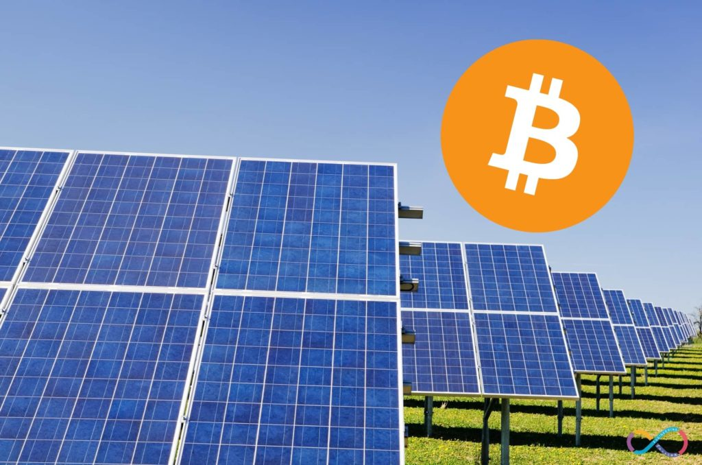 Solar-powered Cryptocurrency Mining